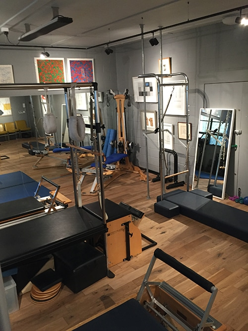 the gyrotronic Osteopath and Pilates studio Notting Hill and Ladbroke Grove, London W10