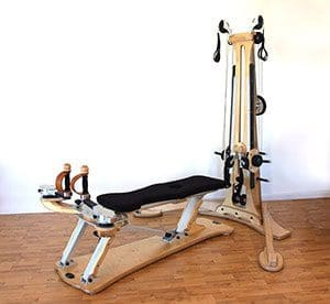 a Gyrotonic machine in Natural Moves Studio in Notting Hill, London W10
