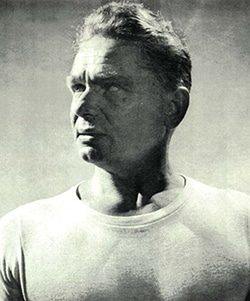 Joseph Pilates the inventor of the Pilates method used in our Pilates Studio in Notting Studio W10